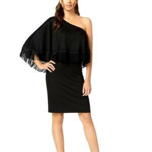 Trina Turk one shoulder dress